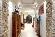 Rustic Hallway Design