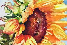 Tranh Cỏ cây hoa lá
