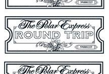 Polar Express/ hot chocolate bar