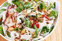 Fresh veg lunch ideas (low fat)
