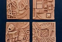 Pottery - Inspiration - Tiles / by Eileen Conner