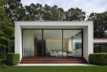 Minimalist Garden Pavilions