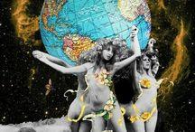 Collage creativo