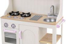Игрушечные кухни / Варианты кухонь для детей