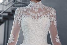wedding dress / wedding