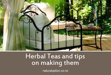 Love Herbal Tea / Tips on making the best herbal teas, as well as some delicious flavours