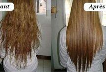 Cheveux coiffure