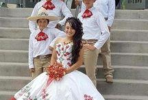 vestidoa de xv años mexicano