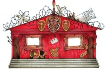 The cabins (camp half blood)