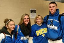 Champions Celebrations - 2014 / Students and staff throughout the district celebrated the Spartans Class B state title with events at their school.