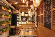 Fast Food Interieur
