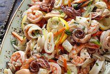Sea foods / Sea foods