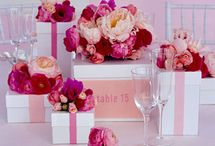 Colour palettes - pink / by English Wedding Blog
