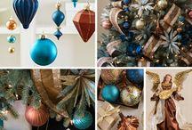 Karácsonyi színösszeállítások