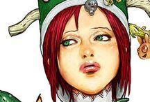 寺田克也 / 即興で描く様は文字通りラクガキング!一番影響を受けたタッチであり、ファンの一人です!