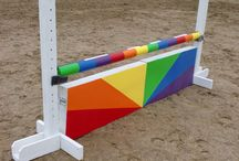 Horse stuff / Show jump fillers - inso patterns to create DIY