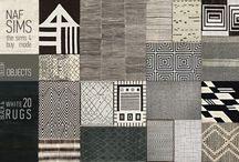 The Sims 4 rugs