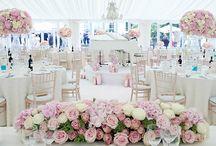 Prenájom okrúhlych stolov / Prenájom svadobných stolov o priemere 180cm. Za stôl usadíte 10 ľudí.