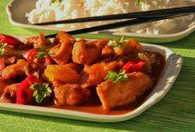 Asijská kuchyně.