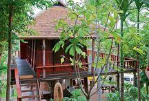Small limasan house