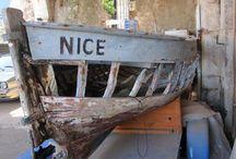 Nice / Zonnig stad in Zuid-Frankrijk, aan de Cote d'Azur.