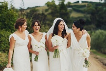 White bridesmaids / Ever since Princess Kate took on the white bridesmaid many others have followed suit and in 2015 we are expecting more ... says Beck of Envy Events