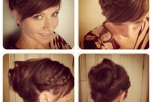 Hair Ideas / by Lindsey Sloan