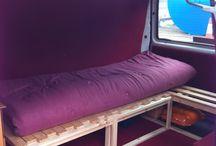 Caddy camper ideas