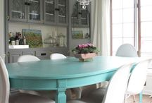 Dining room ideas / Again, this is my personal taste for home-decorating ideas. But I thought I'd leave it on here anyway.