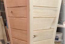masetas de madera