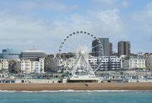 London & Brighton / Lovely photography and illustration of our operating locations!