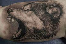 tatoos wolf