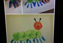 van rups tot vlinder / van rups tot vlinder ideeën voor kleuters