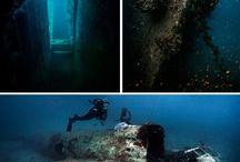 Truk Lagoon / The base for a fleet of Japanese warships, Truk, or Chuuk Lagoon is now the finest wreck diving destination on the planet.