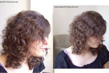 Coupe - Dégradés cheveux bouclés/ Coupes / Styles de coupes et dégradés sur cheveux bouclés ou frisés