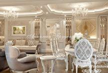 Дизайн интерьера апартаментов в классическом стиле в Барселоне / Дизайн данной квартиры выполнен в статном классическом стиле и разработан студией Анжелики Прудниковой.  Хотя апартаменты в Барселоне имеют большую площадь, но при этом они получились уютными и  воздушными. Мебель прекрасно встроена и полностью передаёт дух классического направления. Богатый  дизайн будет по нраву не только любителям классики.