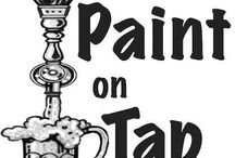 The Frame Dames Paint on Tap Events