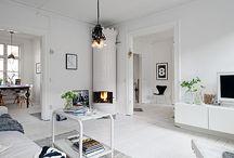 Skandynawskie wnętrza - Scandinavian interior