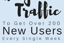 Increase Blog Traffic / Increase Blog Traffic + Blogging Tips + Growing Your Blog