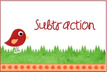 Subtraction / Subtraction is a hard skill for many children to learn! This board has some great resources for learning and practicing subtraction.
