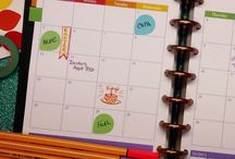 Organised on paper and planner