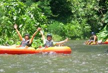 canyon tubing at sharing bali