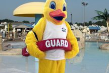 Quacks the Mascot / The Chesapeake Beach Water Park's Mascot!
