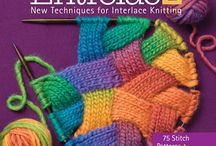 Books knitting, crochet