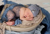 Boy newborn photography