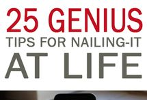 Life Tips + Hacks