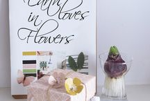 Botanical Collection-design Jurianne Matter for Ompak / because earth loves in flowers