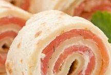 rotolo di patate salmone e finocchietto