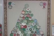 Christmas Bulletin Board / by Christie Beckham