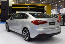 Cerato 2013 / Named the K3, the longer, lower and wider version of Kia's global best-selling model will add another member to its domestic market's K series of passenger cars: the K5 (Optima), K7 (Cadenza), and the K9 (Quoris), Kia's flagship luxury sedan.